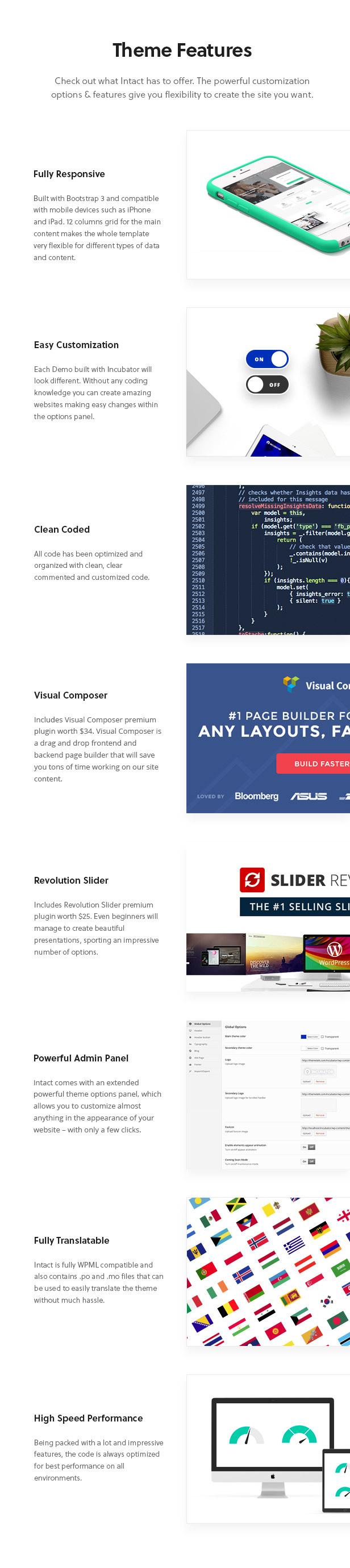 Intact - Multi-Purpose WordPress Theme Download
