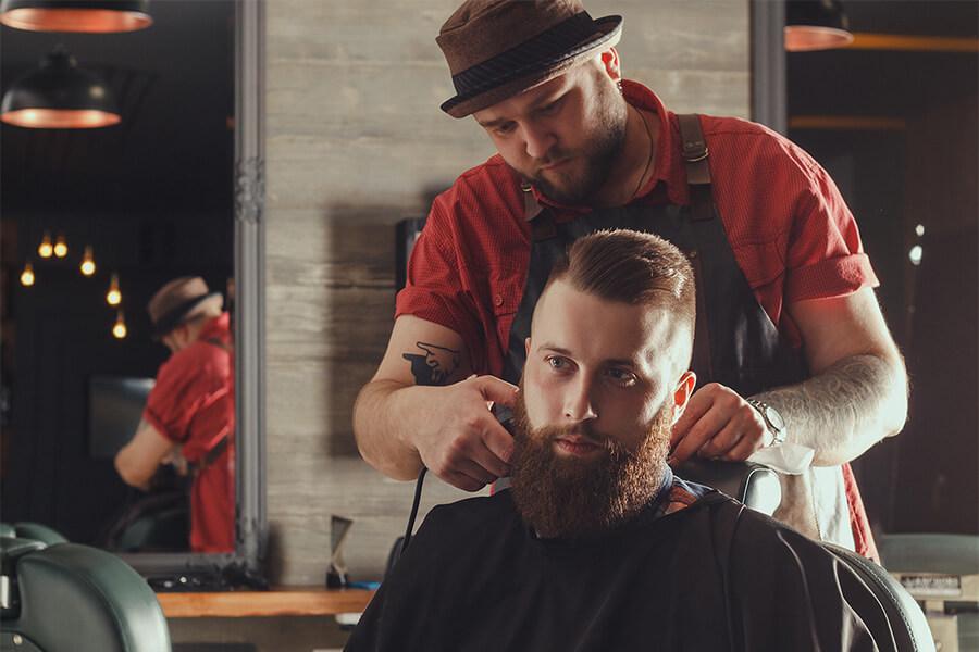 Haircut And Shampoo Etalon Barber